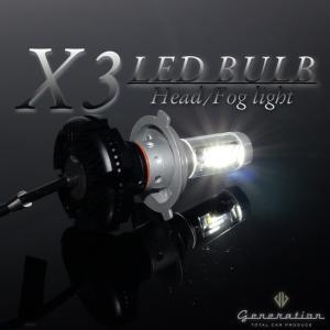 ホンダ オデッセイ RC1/2 マイナーチェンジ前 X3 LEDヘッドライト 全光束6000LM 車...
