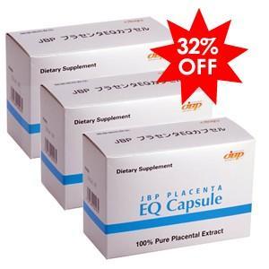 (10粒増量中!)(セットでお得な32%OFF) JBP 日本生物製剤 JBP EQ カプセル×3個(馬プラセンタ サプリメント)|generous-pharma