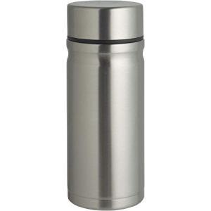 リビング 水筒 200ml 直飲み スクリュー栓 ステンレス ボトル シルバー CLAP MINI genieweb