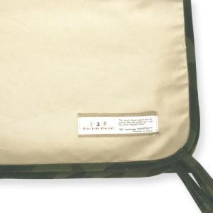LIP3001 ケージ用マットカバーMサイズ (ベージュ×カモフラ) フェレット ベッド ベット マット genieweb