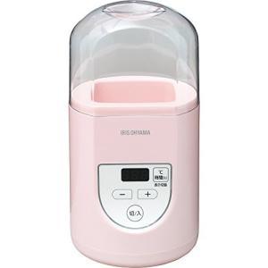 アイリスオーヤマ ヨーグルトメーカー プレミアム 温度調節機能付き ピンク IYM-012