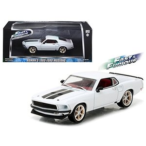 "1/43 Fast & Furious - Fast & Furious 6 (2013) - 1969 Ford Mustang Custom ""A genieweb"