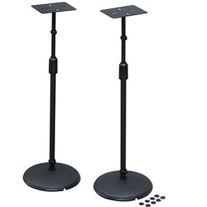 キクタニ スピーカースタンド 天板:150mmX120mm 高さ:575mm~1045mm インシュレーター付 AV-SPS|genieweb