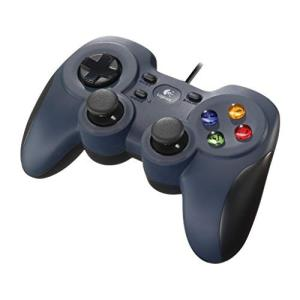 Logicool G ゲームパッド F310r ダークブルー PC ゲームコントローラー  FF14...