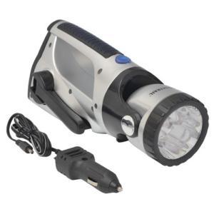 サカソウインベント スーパーエコ手巻き発電LEDライト 0211|genieweb
