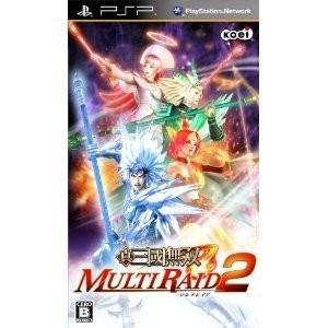 PSP 真・三國無双 MULTI RAID(マルチレイド)2 (初回限定:カスタマイズパーツ「異国の大天翼」ダウンロードシリアル同梱)|genieweb