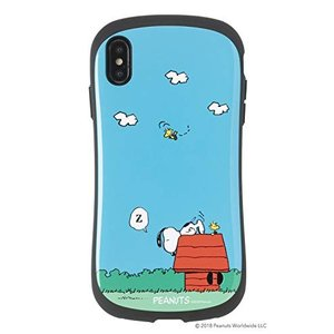 iFace First Class スヌーピー PEANUTS iPhone XS Max ケース ...