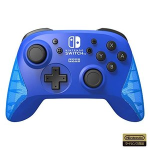 【任天堂ライセンス商品】ワイヤレスホリパッド for Nintendo Switch ブルー【Nin...