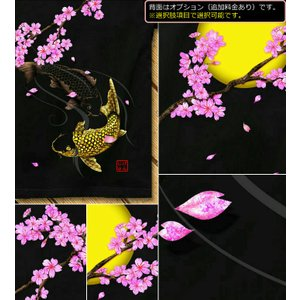 Tシャツ キッズ 和柄 鯉 半袖 KIDS 子供服 90 100 110 120 130 140 cm サイズ 桜河 genju 04