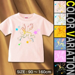 Tシャツ キッズ 天使 エンジェル 90〜160 サイズ 子供服 Angel Voice|genju