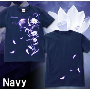 Tシャツ レディース 花柄 S M L サイズ Precious genju 04
