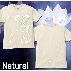 Tシャツ レディース 花柄 S M L サイズ Precious genju 06