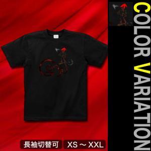 Tシャツ 半袖 長袖 XS S M L XL XXL XXXL 2L 3L 4L サイズ メンズ レディース RED CAP|genju