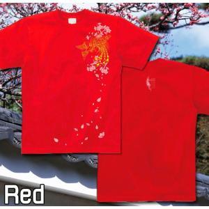 Tシャツ 和柄 鳳凰 桜 半袖 長袖 XS S M L XL XXL XXXL 2L 3L 4L サイズ メンズ レディース 鳳桜|genju|07