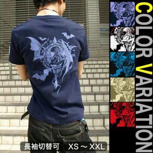 Tシャツ 悪魔 半袖 長袖 XS S M L XL XXL XXXL 2L 3L 4L サイズ メンズ レディース Midnight Queen|genju