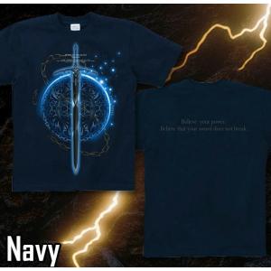 Tシャツ トライバル 剣 半袖 長袖 XS S M L XL XXL XXXL 2L 3L 4L サイズ メンズ レディース Sword Field -Durandal-|genju|05