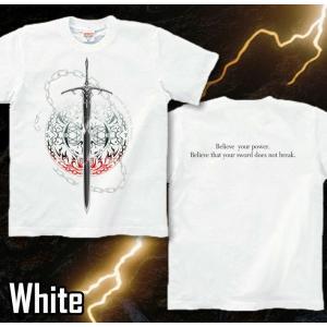 Tシャツ トライバル 剣 半袖 長袖 XS S M L XL XXL XXXL 2L 3L 4L サイズ メンズ レディース Sword Field -Durandal-|genju|09