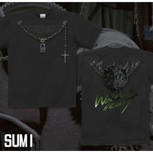 Tシャツ 狼 ウルフ 半袖 長袖 XS S M L XL XXL XXXL 2L 3L 4L サイズ メンズ レディース Wolfen Heart|genju|06