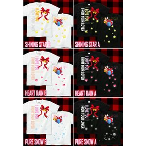 Tシャツ クリスマス プレゼント 半袖 長袖 XS S M L XL XXL XXXL 2L 3L 4L サイズ メンズ レディース From Your Lover|genju|03