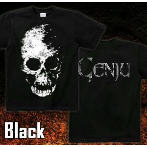 Tシャツ スカル ドクロ 半袖 長袖 XS S M L XL XXL XXXL 2L 3L 4L サイズ メンズ レディース Image of Death Type-1|genju|05