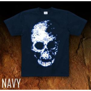 Tシャツ スカル ドクロ 半袖 長袖 XS S M L XL XXL XXXL 2L 3L 4L サイズ メンズ レディース Image of Death Type-1|genju|06