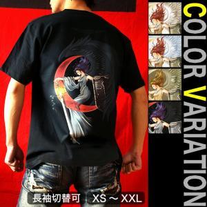 Tシャツ 天使 半袖 長袖 XS S M L XL XXL XXXL 2L 3L 4L サイズ メンズ レディース 天使の肖像|genju