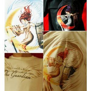 Tシャツ 天使 半袖 長袖 XS S M L XL XXL XXXL 2L 3L 4L サイズ メンズ レディース 天使の肖像|genju|03