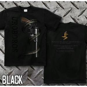 Tシャツ マグナム 拳銃 半袖 長袖 XS S M L XL XXL XXXL 2L 3L 4L サイズ メンズ レディース UROBOROS Type-H|genju|05