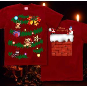 クリスマス Tシャツ 仮装 衣装 スポーツジム 半袖 長袖 XS S M L XL XXL XXXL 2L 3L 4L サイズ メンズ レディース イルミネーション|genju|06