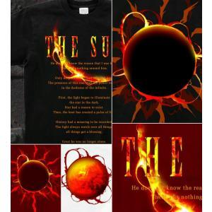 Tシャツ 太陽 アメカジ 半袖 長袖 XS S M L XL XXL XXXL 2L 3L 4L サイズ メンズ レディース SHINING|genju|04