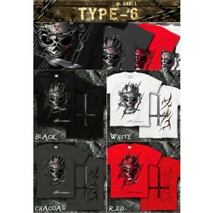 スカル ロック メタル Tシャツ 半袖 長袖 XS S M L XL XXL XXXL XXXL 2L 3L 4L サイズ メンズ かっこいい 人気商品 メール便なら送料180円〜 skull festival|genju|07