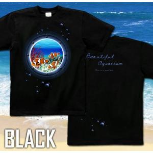 Tシャツ クマノミ 海 夏 半袖 長袖 XS S M L XL XXL XXXL 2L 3L 4L サイズ メンズ レディース JewelBox -Amphiprion clarkii-|genju|04