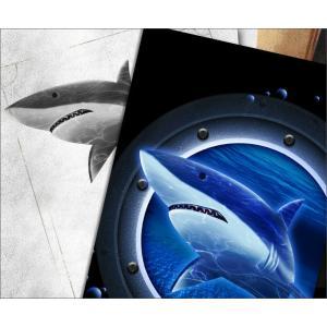 Tシャツ 鮫 海 夏 半袖 長袖 XS S M L XL XXL XXXL 2L 3L 4L サイズ メンズ レディース JewelBox -Shark-|genju|02