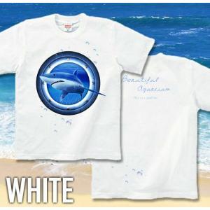 Tシャツ 鮫 海 夏 半袖 長袖 XS S M L XL XXL XXXL 2L 3L 4L サイズ メンズ レディース JewelBox -Shark-|genju|04