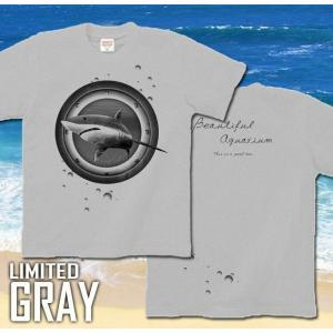 Tシャツ 鮫 海 夏 半袖 長袖 XS S M L XL XXL XXXL 2L 3L 4L サイズ メンズ レディース JewelBox -Shark-|genju|08