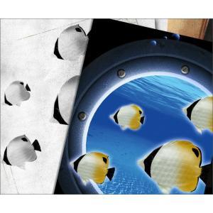 メール便なら送料180円〜 Tシャツ チョウチョウウオ 長袖あり XS S M L XL XXL 2L 3L JewelBox -Chaetodon auripes-|genju|02