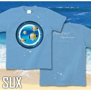 メール便なら送料180円〜 Tシャツ チョウチョウウオ 長袖あり XS S M L XL XXL 2L 3L JewelBox -Chaetodon auripes-|genju|07