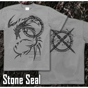 Tシャツ ドラゴン 竜 半袖 長袖 XS S M L XL XXL XXXL 2L 3L 4L ファイナル ファンタジー サイズ メンズ レディース Dragons Crest|genju|10