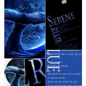 メール便なら送料180円〜 Tシャツ クジラ 鯨 長袖あり XS S M L XL XXL 2L 3L SERENE BLUE -WHALE-|genju|02