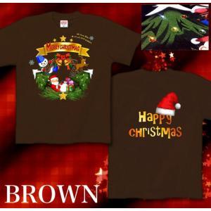 Tシャツ クリスマス 雪だるま プレゼント イベント スポーツジム 半袖 長袖 XS S M L XL XXL XXXL 2L 3L 4L Happy Xtmas|genju|07