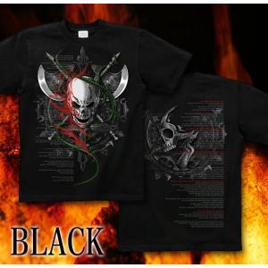 Tシャツ スカル 半袖 長袖 XS S M L XL XXL XXXL 2L 3L 4L サイズ メンズ レディース Apocalypse of the darkness|genju|06