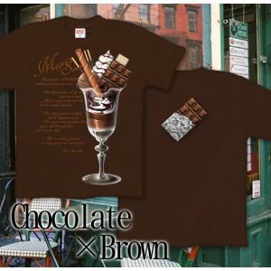 Tシャツ バレンタイン プレゼント チョコレート 半袖 長袖 XS S M L XL XXL XXXL 2L 3L 4L サイズ メンズ レディース Sweets on Magic|genju|05