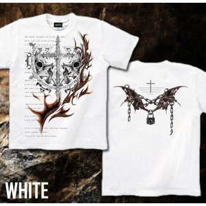Tシャツ スカル ロック メタル 十字架 半袖 長袖 XS S M L XL XXL XXXL 2L 3L 4L サイズ メンズ レディース IDEAイデア genju 10