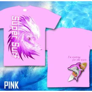 メール便なら送料180円〜 サーフボード Tシャツ 海 夏 サーフィン 長袖あり XS S M L XL XXL 2L 3L SUPER SURF|genju|09