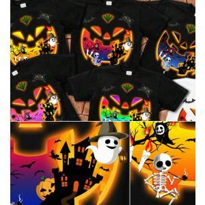 ハロウィン Tシャツ コスプレ 仮装 tシャツ カボチャ スカル 幽霊 Halloween XS S M L XL XXL XXXL XXXL 3L 4L サイズ メンズ レディース Halloween Unicerse|genju|02