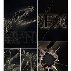 Tシャツ 恐竜 ティラノサウルス Tレックス スカル 半袖 長袖 XS S M L XL XXL XXXL 2L 3L 4L サイズ メンズ レディース TYRANT T-REX|genju|03