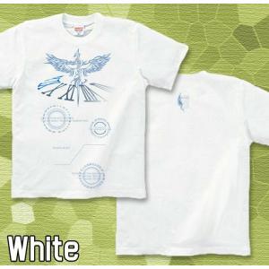 Tシャツ 鷹 半袖 長袖 XS S M L XL XXL XXXL 2L 3L 4L サイズ メンズ レディース White Cogweel|genju|04