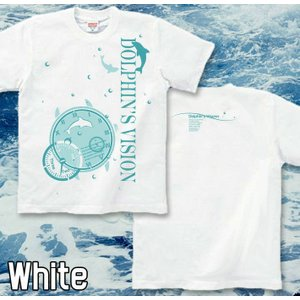 Tシャツ イルカ 海 夏 半袖 長袖 XS S M L XL XXL XXXL 2L 3L 4L サイズ メンズ レディース Dolphin's Vision|genju|03