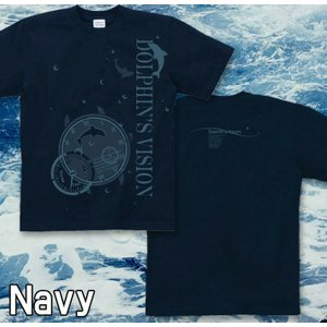 Tシャツ イルカ 海 夏 半袖 長袖 XS S M L XL XXL XXXL 2L 3L 4L サイズ メンズ レディース Dolphin's Vision|genju|05