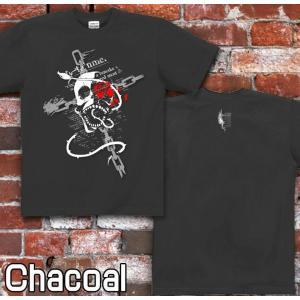 Tシャツ スカル ドクロ 髑髏 骸骨 半袖 長袖 XS S M L XL XXL XXXL 2L 3L 4L サイズ メンズ レディース ROSE BLOOD|genju|05